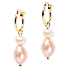 88052-01 BLUSH Classy Earring Pink Pearl