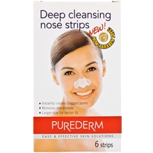 6 kpl/paketti - Nose Pore Strips Deep Cleansing