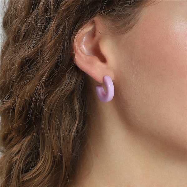 Spring Earrings Purple (Kuva 2 tuotteesta 2)