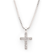 Clara Crucifix Necklace