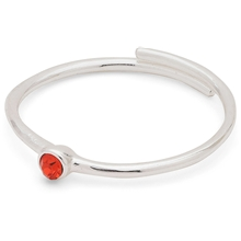 Lulu Stack Ring Red Crystal