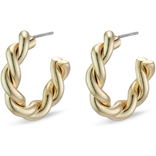 Skuld Gold Plated Earrings