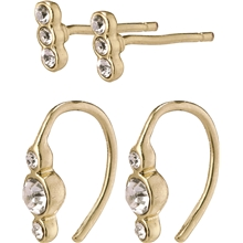 1 set - 13204-2003 Radiance Earrings Gold Plated