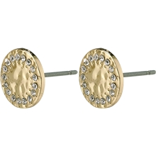 1 set - 14204-2003 Compassion Stud Earrings Gold Plated