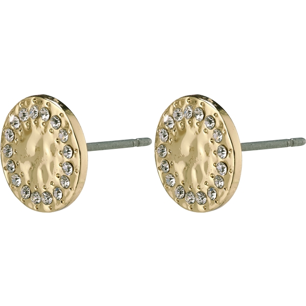 14204-2003 Compassion Stud Earrings Gold Plated