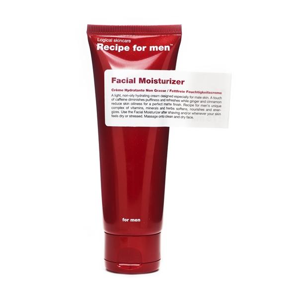 Recipe For Men Facial Moisturizer 75 ml, Recipe for Men