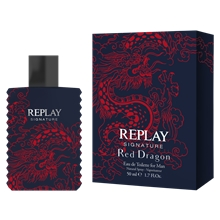 50 ml - Replay Signature Red Dragon for Him