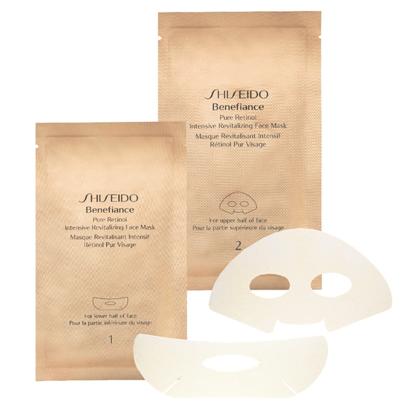 Benefiance Pure Retinol Revitalizing Face Mask 1 set, Shiseido
