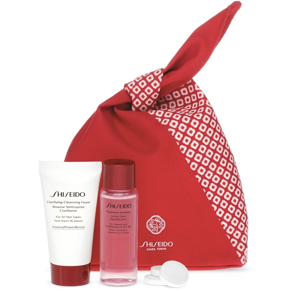 Shiseido Cleanse & Balance Travel Kit