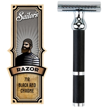 Safety Razor Black & Chrome 71R