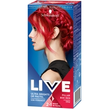 1 set - No. 092 Pillar Box Red - Live Color XXL HD Ultra Brights