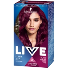 1 set - L76 Ultra Violet - Live Intense Color