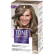 1 set - 7.1 Ashy Dark Blond - Tone Supreme