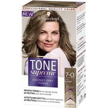 1 set - 7.0 Dark Blonde - Tone Supreme