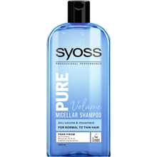 500 ml - Syoss Pure Volume Shampoo