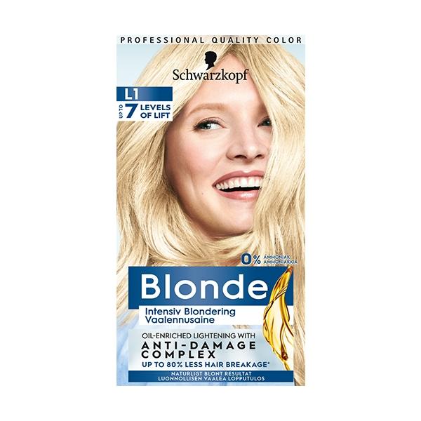 Schwarzkopf Blonde 1 set L1+