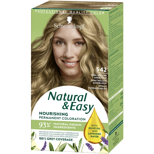 Natural & Easy No. 542, Schwarzkopf