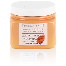 250 ml - Sunday Rain Body Butter Mango & Coconut