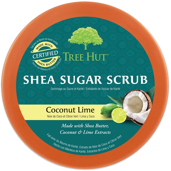 Tree Hut Shea Sugar Scrub Coconut Lime (Kuva 2 tuotteesta 2)