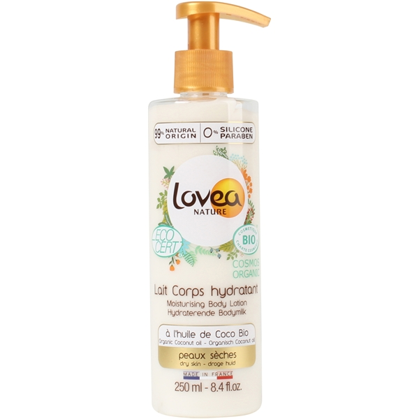 0% Coconut Oil Moisturizing Body Lotion - Dry Skin
