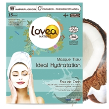 18 ml - BIO Coconut Ideal Hydration Fabric Face Mask