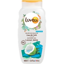400 ml - Lovea Coconut Water Shower Gel