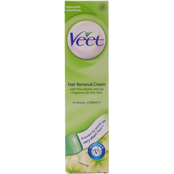 Veet 3 Minute Hair Removal Cream - Dry Skin 200 ml