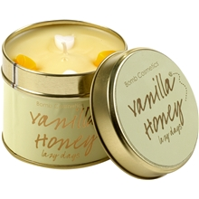 Tin Candle Vanilla Honey