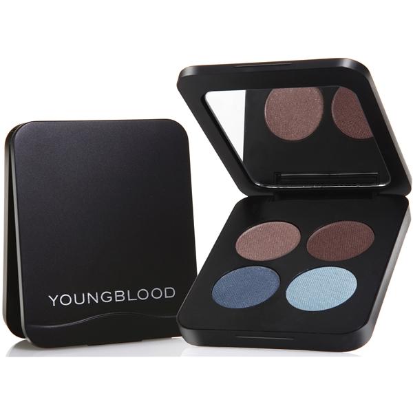 Youngblood Pressed Eyeshadow Quad 4 gr Glamour-Eyes