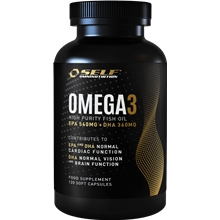 120 kapselia - Omega 3 Fish Oil