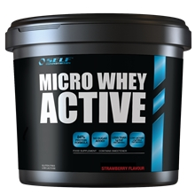 1 kg - Mansikka - Micro Whey Active