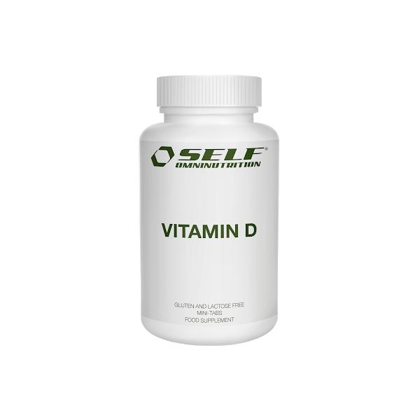 Vitamin D 100 tablettia, SELF Omninutrition