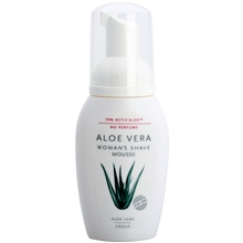 150 ml - Aloe Vera Woman's Shave Mousse