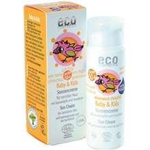 eco cosmetics solkräm spf50 baby 50 ml
