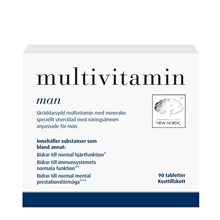 90 tablettia - Multivitamin Man