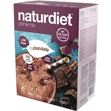 25 annosta - Chocolate - Naturdiet drinkmix