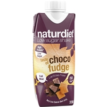 Naturdiet Free Shake No Lactose Choco-fudge 330 ml