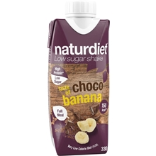 330 ml - Chocolate-Banana - Naturdiet Shake