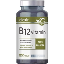 B-12 vitamin plus folsyra