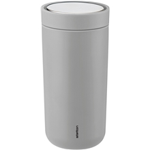 Stelton To Go Click 0,4 L Light Grey 0.4 litraa