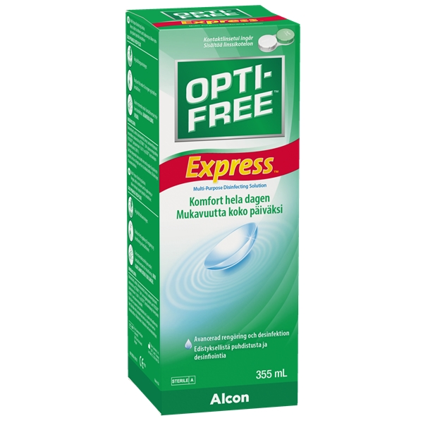 Opti-Free Express NoRub 355ml