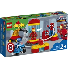 10921 LEGO Duplo Supersankarien laboratorio