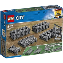 60205 LEGO City Trains Raiteet