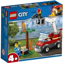60212 LEGO City Grillipalo