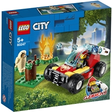 60247 LEGO City Fire Metsäpalo