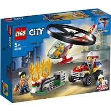60248 LEGO City Fire Palokunnan helikopter