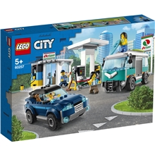 60257 LEGO City Turbo Wheels Huoltoasema