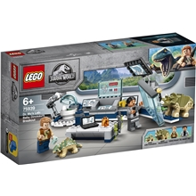 75939 LEGO Jurassic World Tri Wun laboratorio