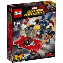 76077 LEGO Iron Man Detroit Steel iskee