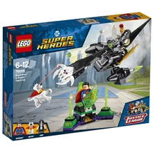 76096 LEGO Heroes Supermanin ja Krypton tiimi